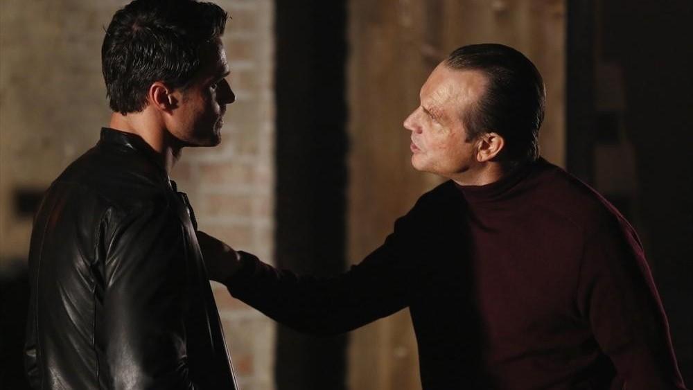Agents of S.H.I.E.L.D.: Bill Paxton con Brett Dalton nell'episodio Providence
