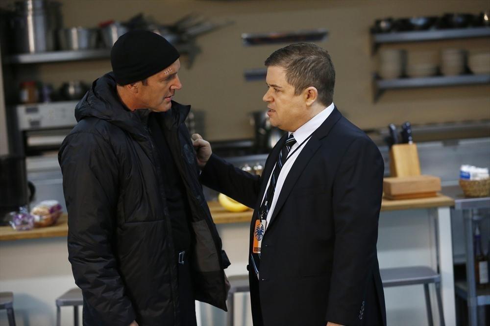 Agents of S.H.I.E.L.D.: Clark Gregg e Patton Oswalt nell'episodio Providence, della prima stagione