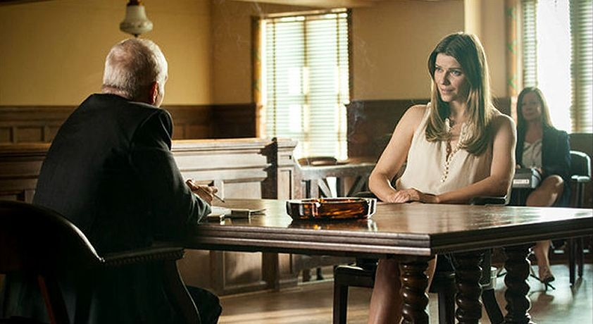 Banshee: Ivana Milicevic in una scena dell'episodio Little Fish
