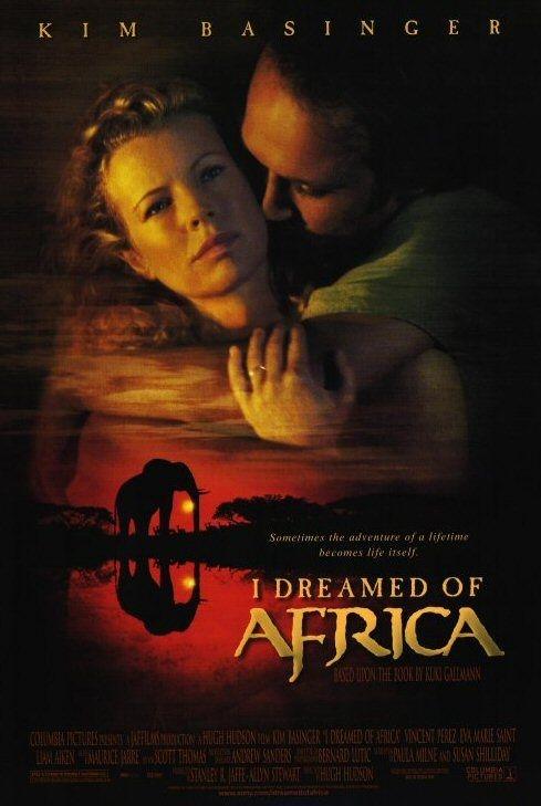 Sognando l'africa: la locandina del film