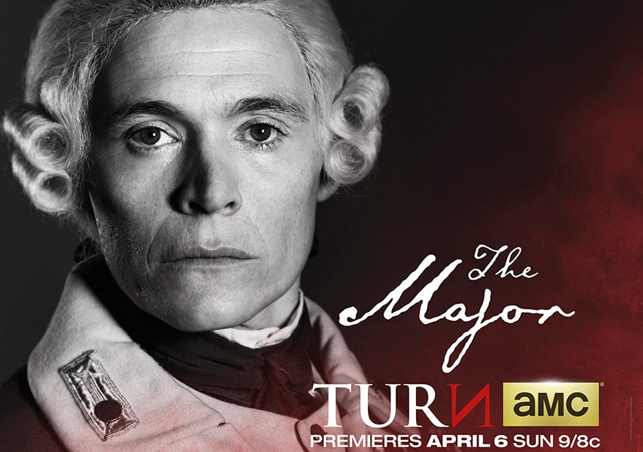 TURN: un manifesto per il personaggio di Burn Gorman