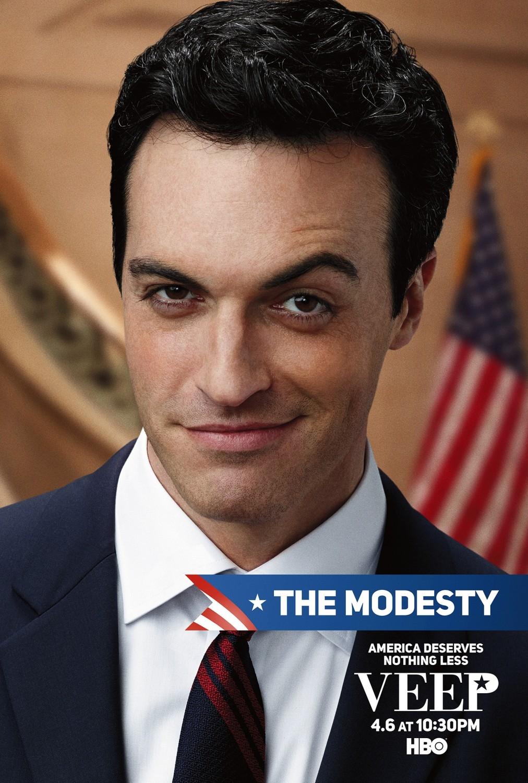 Veep: un manifesto della terza stagione per il personaggio di Reid Scott