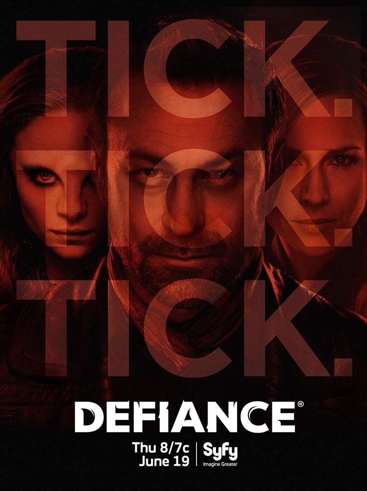 Primo manifesto promozionale per la seconda stagione di Defiance