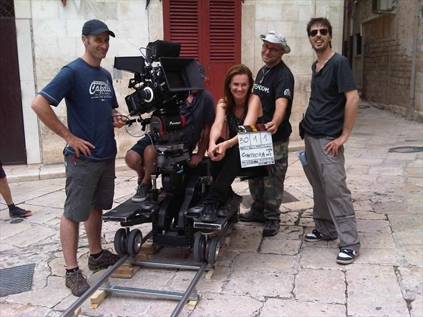 Controra: la regista Rossella De Venuto in una foto promozionale
