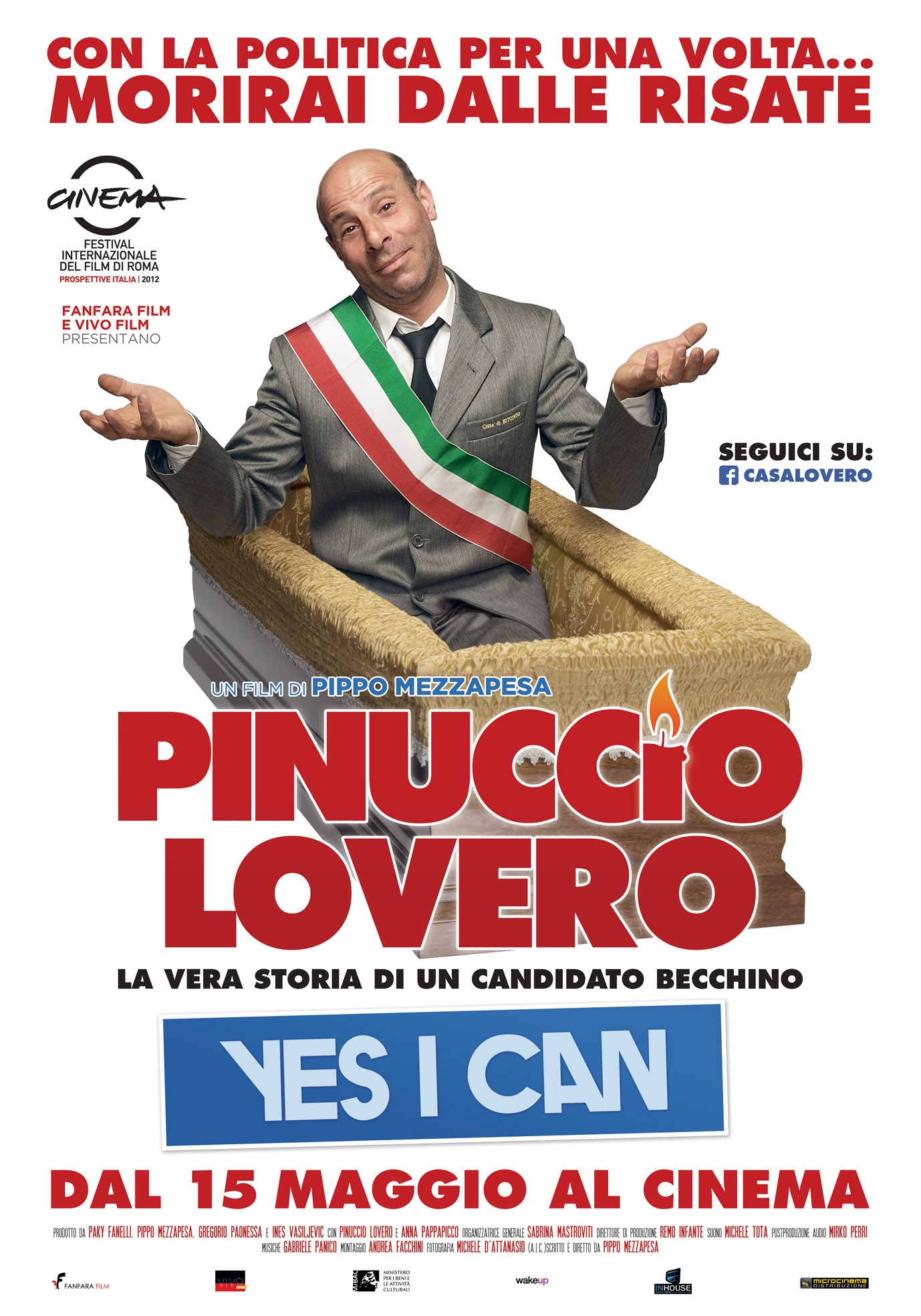 Pinuccio Lovero Yes I can: la locandina definitiva del film