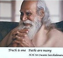 Una foto di Swami Satchidananda