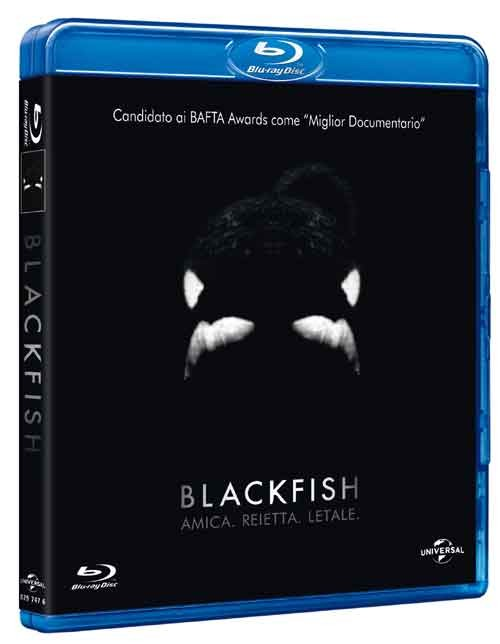 La copertina di Blackfish (blu-ray)