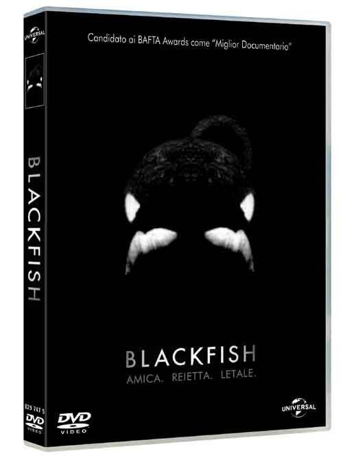 La copertina di Blackfish (dvd)