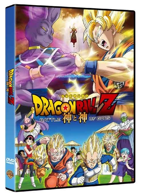 La copertina di Dragon Ball Z: La Battaglia degli Dei (dvd)