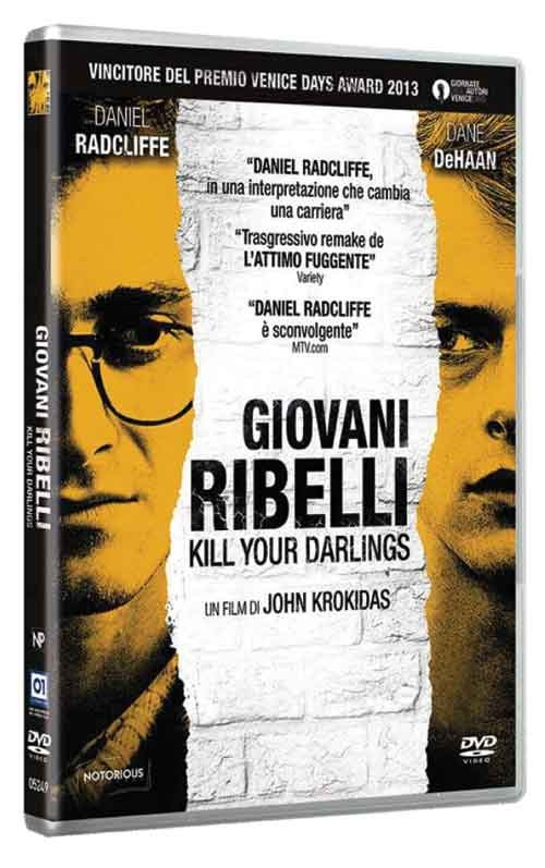 La copertina di Giovani ribelli - Kill Your Darlings (dvd)