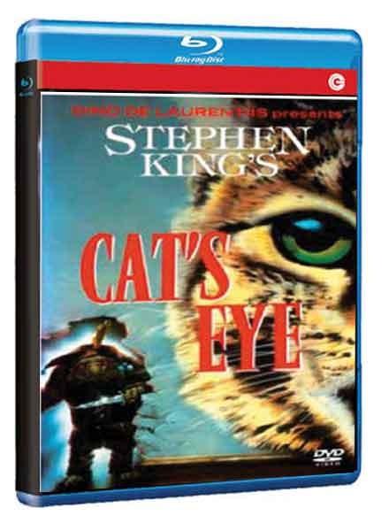La copertina di L\'occhio del gatto (blu-ray)