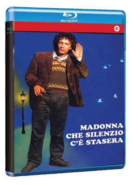 La copertina di Madonna che silenzio c\'è stasera (blu-ray)