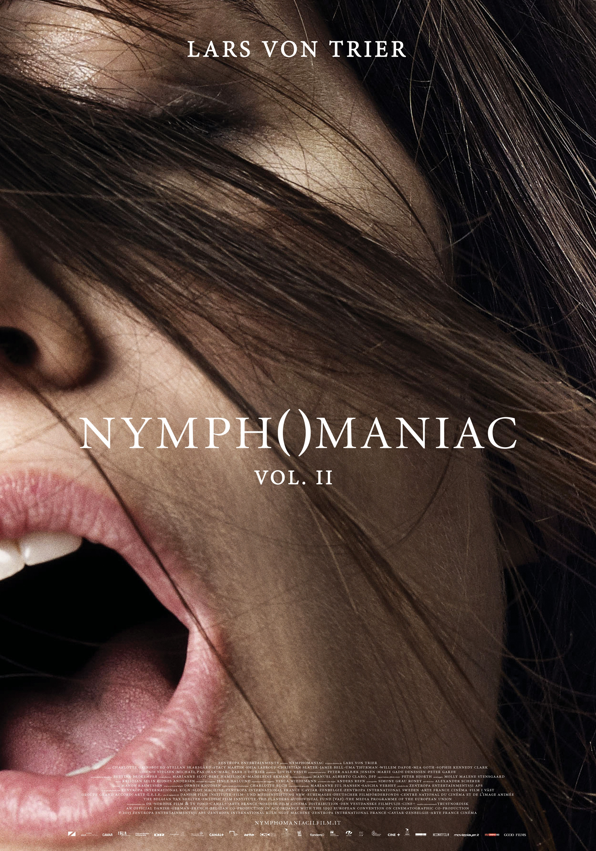Nymphomaniac - Volume 2: nuovo poster italiano
