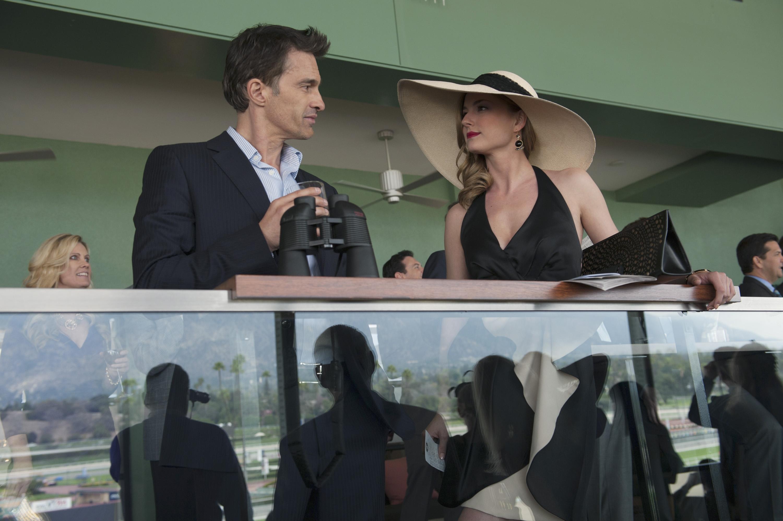 Revenge: Emily VanCamp nell'episodio Allegiance, della terza stagione