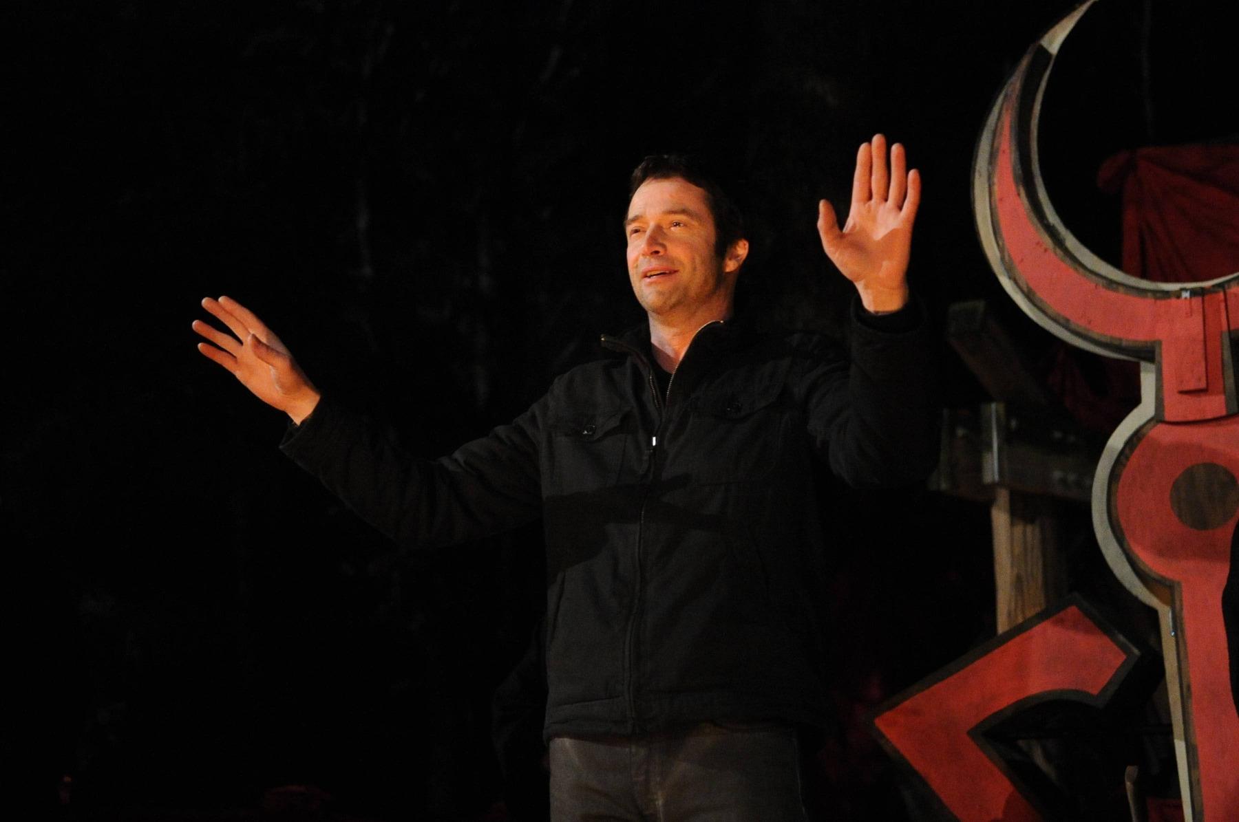 The Following: James Purefoy in una scena dell'episodio The Reaping, seconda stagione