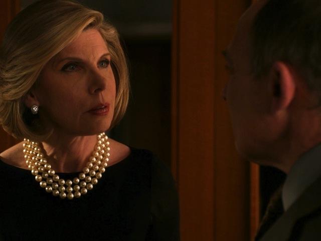 The Good Wife: Christine Baranski in una scena dell'episodio A Material World