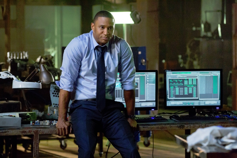 Arrow: David Ramsey in una scena dell'episodio Odissea