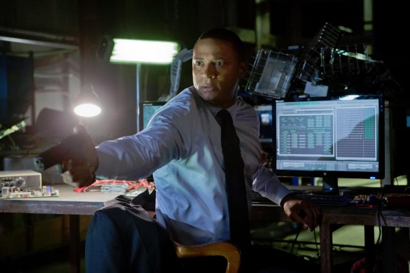 Arrow: David Ramsey in una scena dell'episodio Odissea, prima stagione