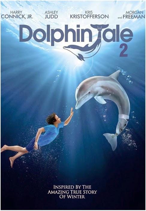 Dolphin Tale 2: la locandina del film