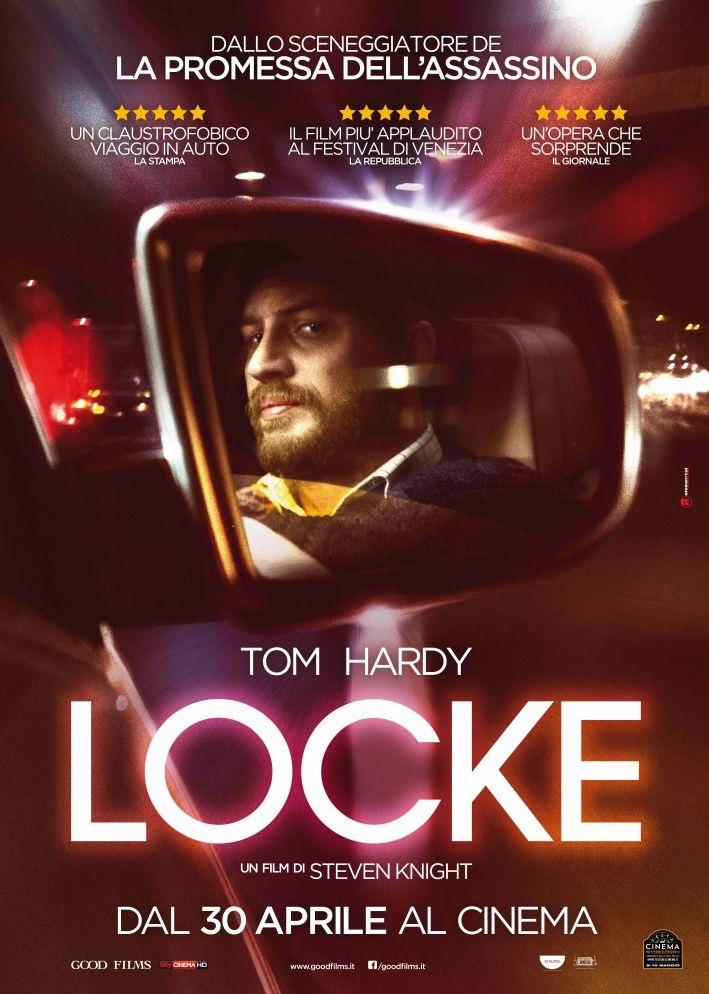 Locke: la locandina italiana