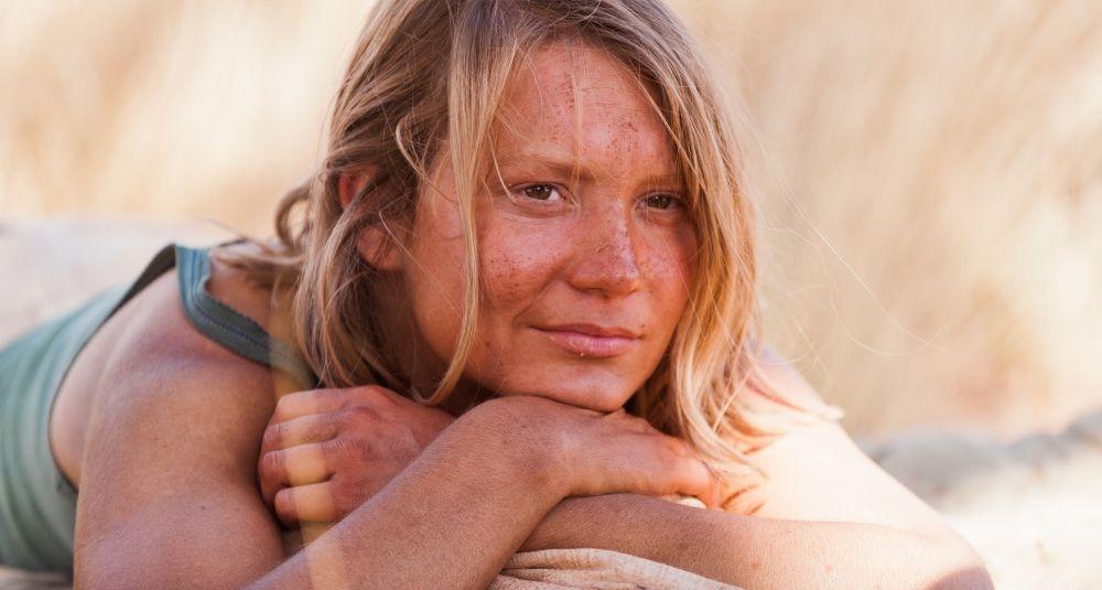 Tracks - Attraverso il deserto: Mia Wasikowska in un'immagine del film