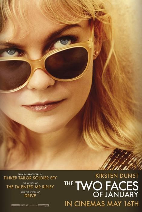 I due volti di gennaio: il character poster di Kirsten Dunst