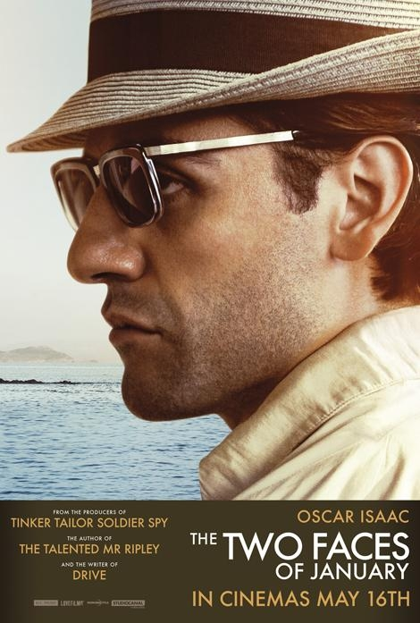 I due volti di gennaio: il character poster di Oscar Isaac