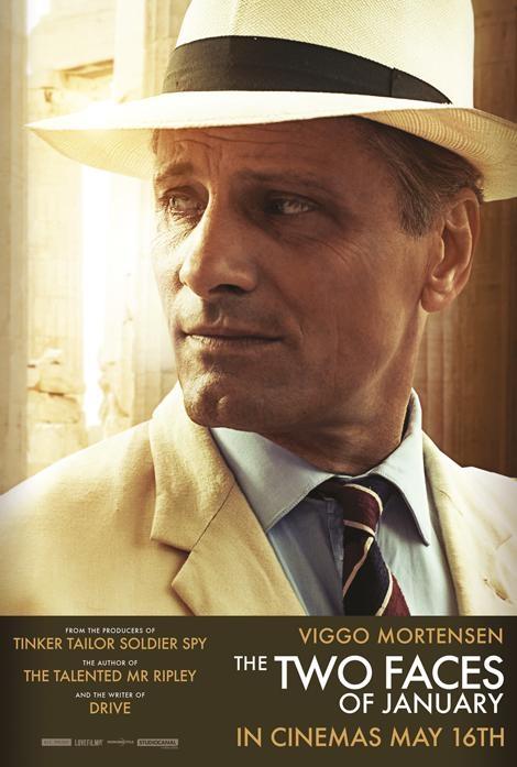 I due volti di gennaio: il character poster di Viggo Mortensen