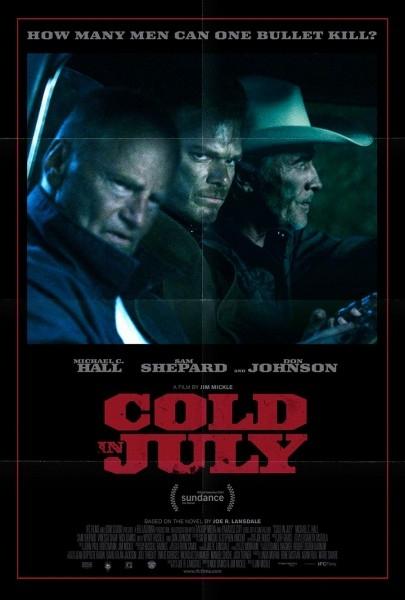 Cold in July: la locandina del film