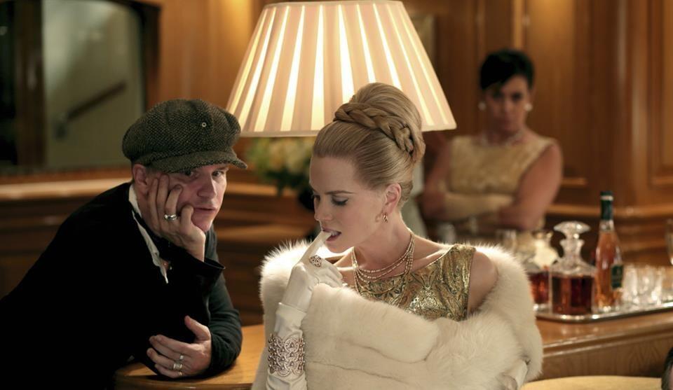 Grace di Monaco: Nicole Kidman in una foto promozionale con il regista Olivier Dahan