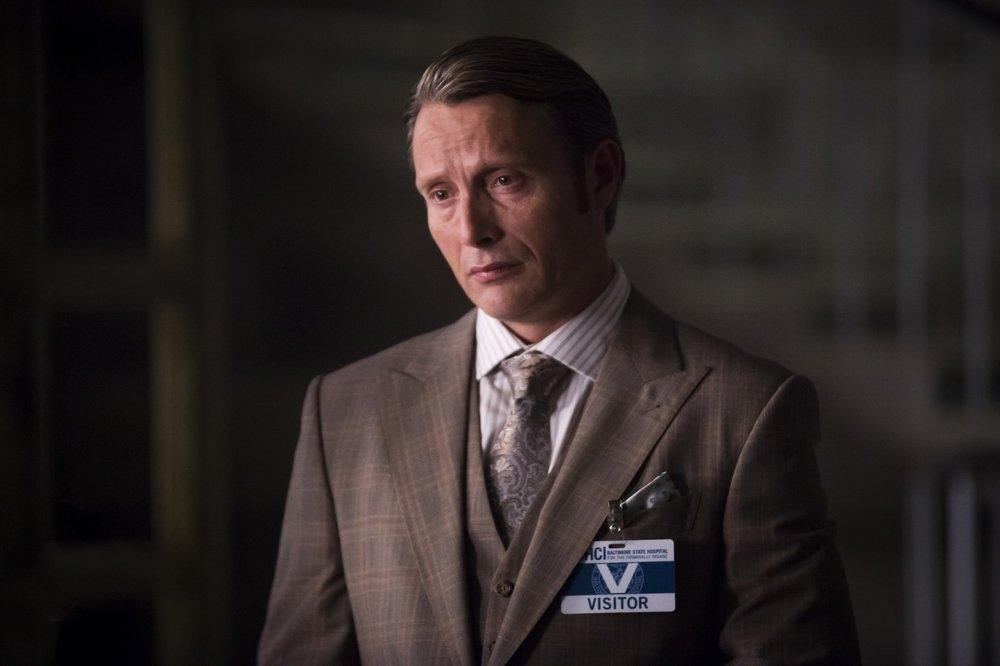 Hannibal: Mads Mikkelsen durante una scena dell'episodio Sakizuki, seconda stagione