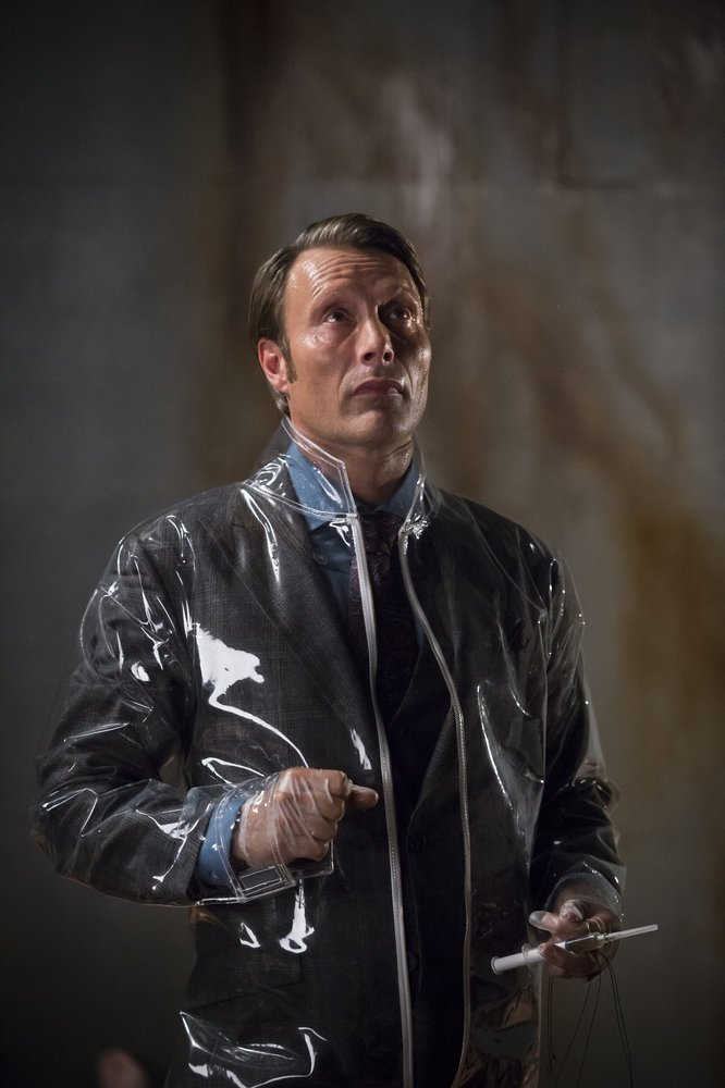 Hannibal: Mads Mikkelsen in una scena dell'episodio Sakizuki, seconda stagione