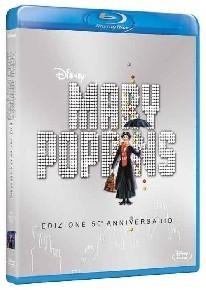 La copertina di Mary Poppins (blu-ray)