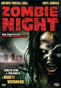 La copertina di Zombie Night (dvd)