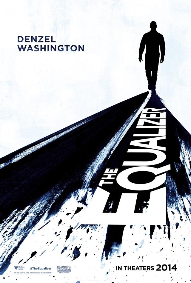The Equalizer - Il vendicatore: la locandina ufficiale internazionale del film