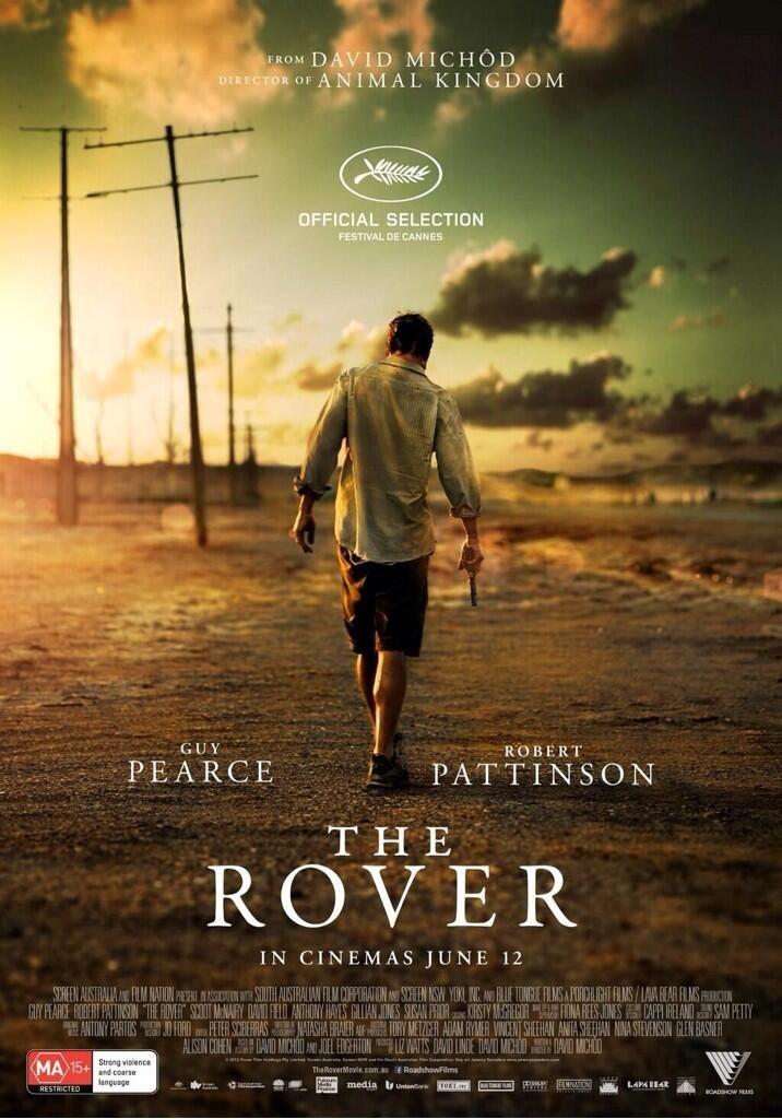 The Rover: il poster del film