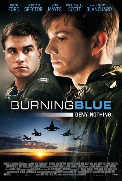 Burning Blue: la locandina del film