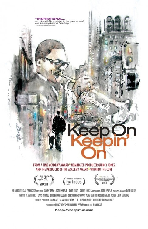 Keep on Keepin\' On: la locandina del film