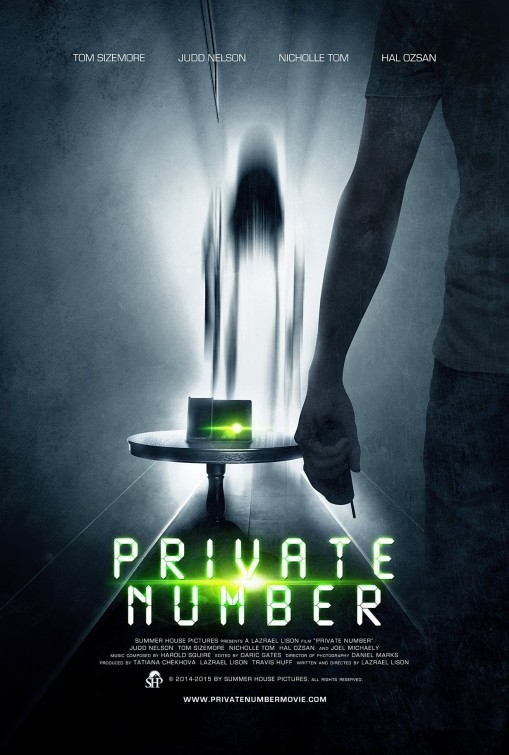 Private Number: la locandina del film