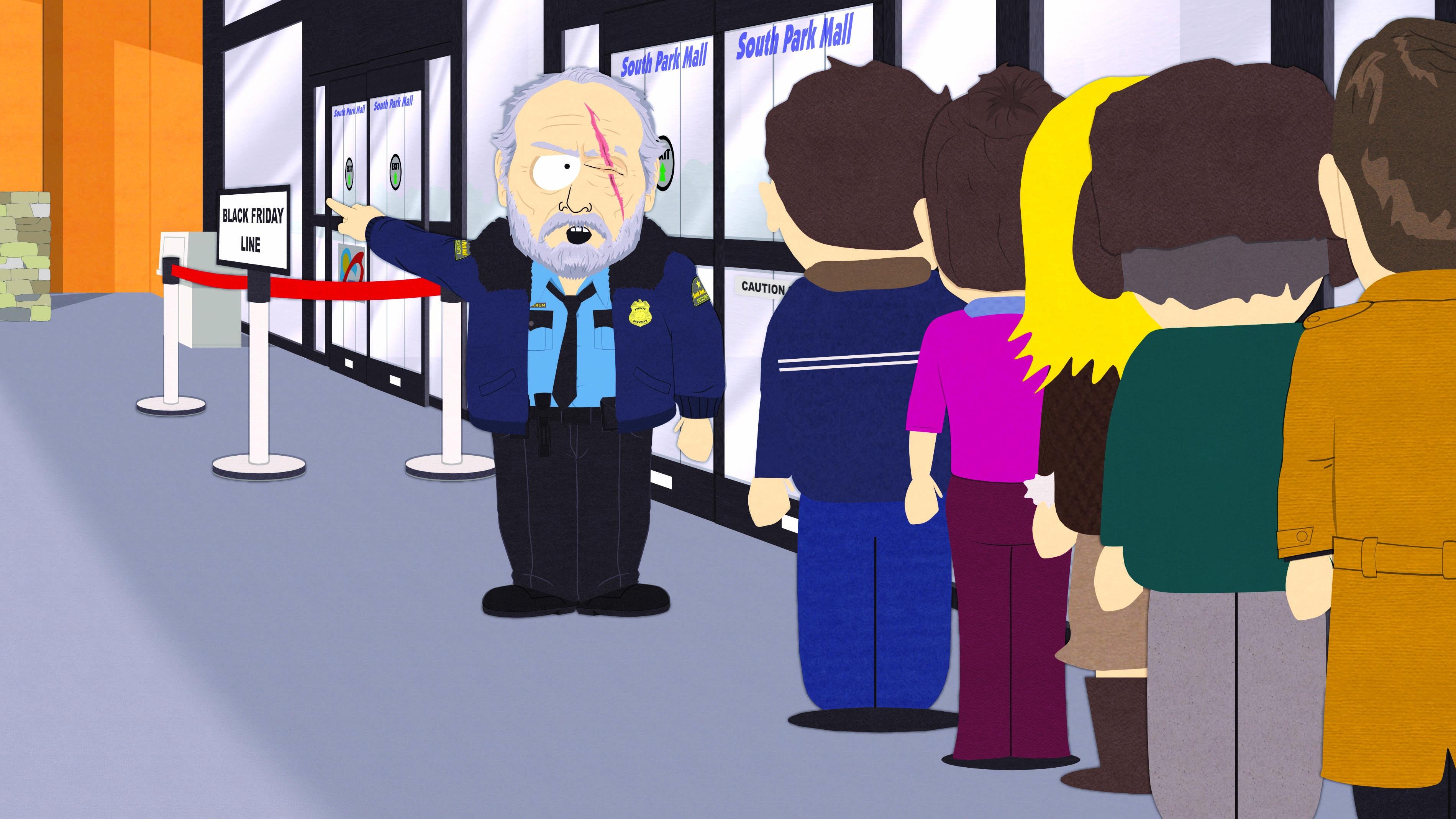 South Park: un'immagine tratta dall'episodio Black Friday