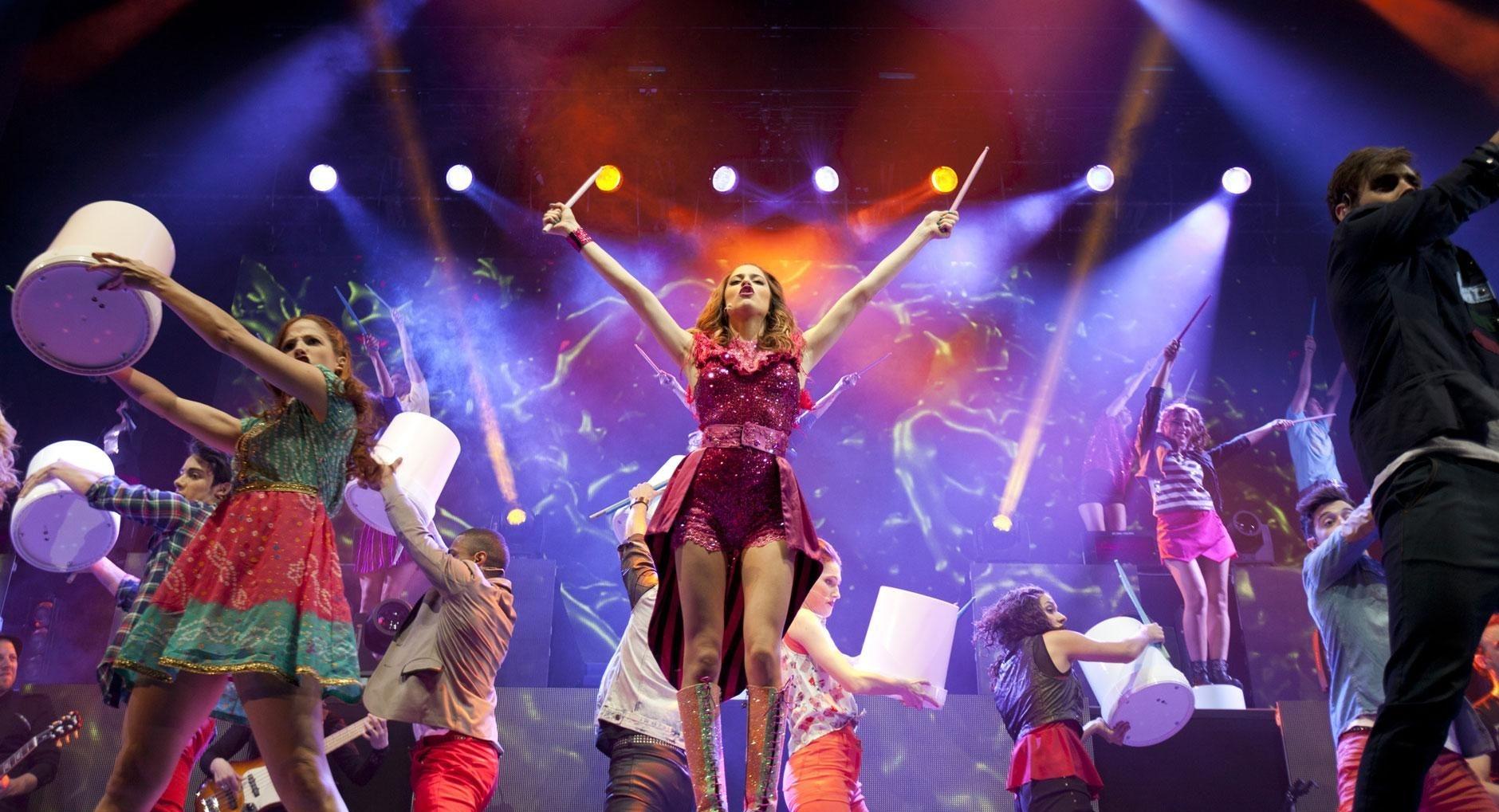 Violetta - Backstage Pass: un'immagine del concerto milanese su cui è basato l'evento cinematografico