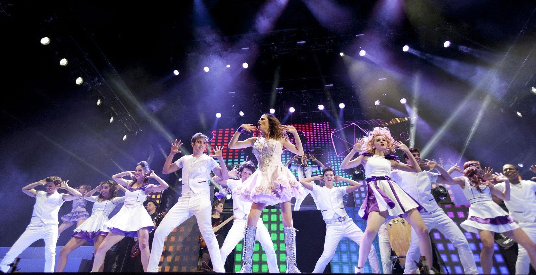 Violetta - Backstage Pass: un'immagine tratta dal concerto