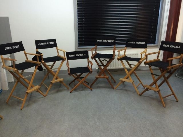 Avengers: Age of Ultron - Le sedie delle star
