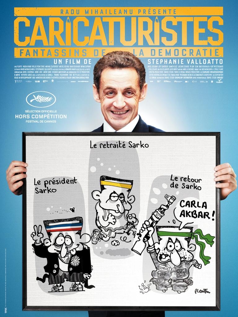 Caricaturistes - Fantassins de la démocratie: la locandina del film