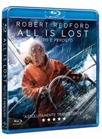 La copertina di All is Lost - Tutto è perduto (blu-ray)