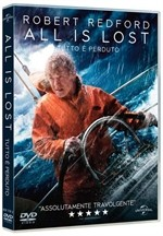 La copertina di All is Lost - Tutto è perduto (dvd)