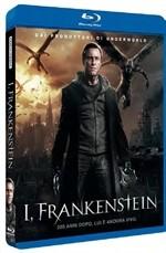 La copertina di I, Frankenstein (blu-ray)