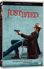 La copertina di Justified - Stagione 3 (dvd)