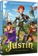 La copertina di Justin e i cavalieri valorosi (dvd)