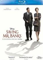 La copertina di Saving Mr. Banks (blu-ray)